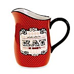 Certified International Eat at Mom's 2.75-Quart Pitcher