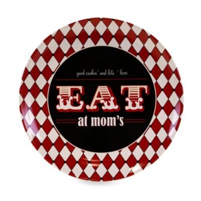 Certified International Eat at Mom's Round 15-Inch Platter