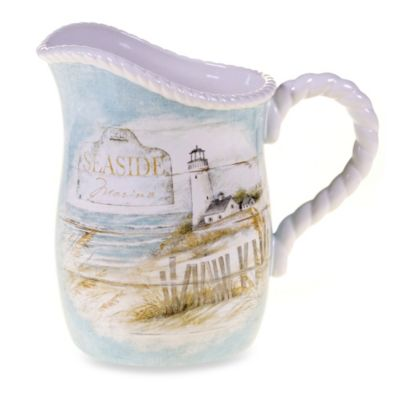 Certified International Beach 2.75-Quart Cottage Pitcher