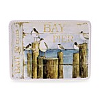 Certified International Beach Cottage 15-Inch x 12-Inch Rectangular Platter