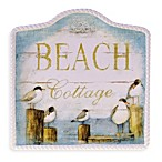 Certified International Beach 12.75-Inch x 12.5-Inch Cottage Platter