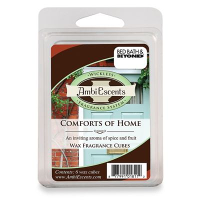 AmbiEscents Comfort of Home Fragrance Cubes