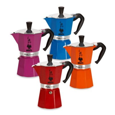 Buy Bialetti Moka Express Stovetop Espresso 6-Cup Coffee Maker in Purple from Bed Bath & Beyond