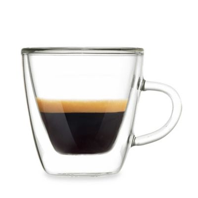 Grosche Turin 4.75-Ounce Double Shot Espresso Cups (Set of 2)