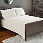 The Seasons Collection® Plush Quilt and Sham Set in Cream