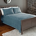The Seasons Collection® Plush Quilt and Sham Set in Mineral