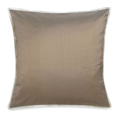 Blissliving® Home Lucca European Pillow Sham in Bronze