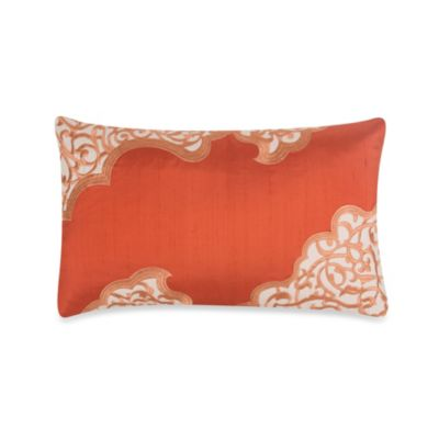 Blissliving® Home Zahara 12-Inch x 20-Inch Toss Pillow in Coral