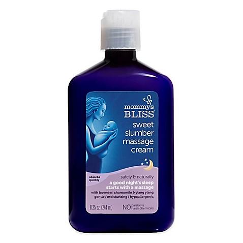 Buy Mommy S Bliss 174 Sweet Slumber 8 25 Oz Massage Cream