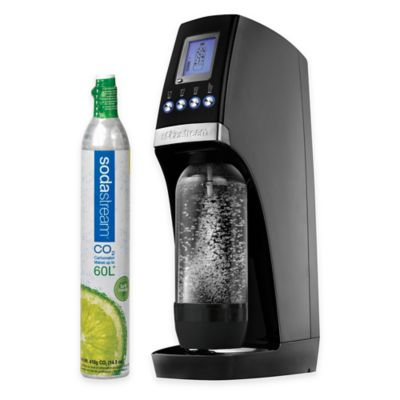 SodaStream Revolution Sparkling Water Maker Starter Kit in Black/Silver