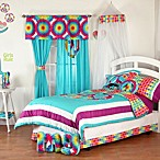 One Grace Place Terrific Tie Dye 4-piece Comforter Set