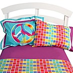 One Grace Place Terrific Tie Dye Full Sheet Set