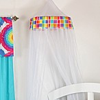 One Grace Place Terrific Tie Dye Canopy in Mesh