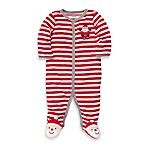 Carter's® Red Stripe Santa 1-Piece Footie