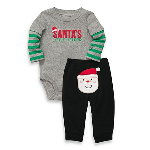 Carter's® Santa's Little Helper 2-Piece Pant Set