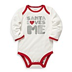 Carter's® Santa Loves Me Glitter Bodysuit
