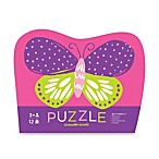 Crocodile Creek 12-Piece Mini Shaped Butterfly Puzzle