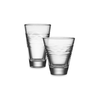Kathy Ireland Home by Gorham Ki Kahala four 12 oz. Highball Glasses