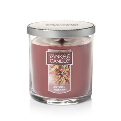 Yankee Candle® Housewarmer® Autumn Wreath Small Lidded Candle Tumbler