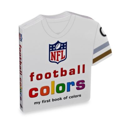 NFL Football Colors Board Book