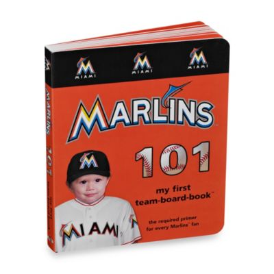MLB Miami Marlins 101 Board Book