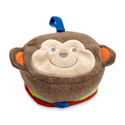 Baby Starters Soft Plush Monkey Book