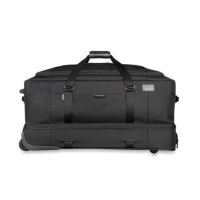 T-Tech by Tumi Network Collection Split Wheeled Duffel in Black