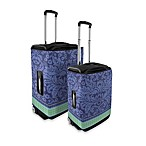 Coverlugg Luggage Protectors in Violet Flowers