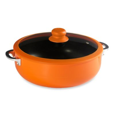 IMUSA® Covered Silicone Rim Calderos in Orange