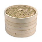 IMUSA 10-Inch Asian Bamboo Steamer
