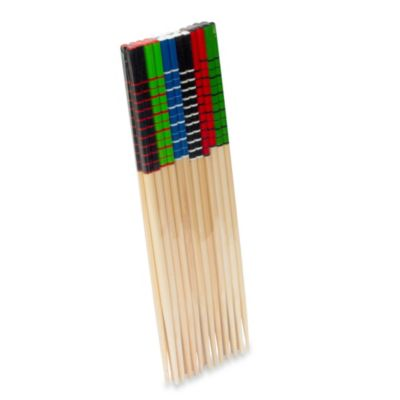 IMUSA® Colored Bamboo Chopsticks (Set of 12)
