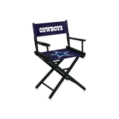 Dallas Cowboys NFL Table Height Director Chair