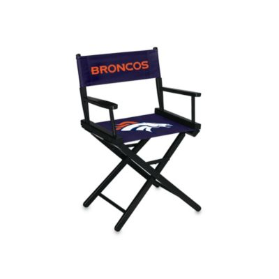 NFL Denver Broncos Table Height Director Chair