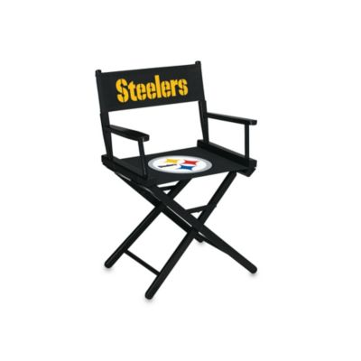 NFL Pittsburgh Steelers Table Height Director Chair