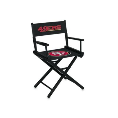 NFL San Francisco 49ers Table Height Director Chair