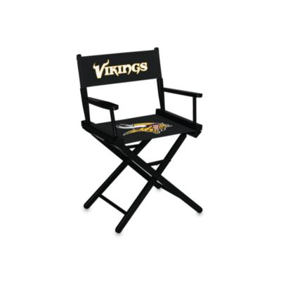 NFL Minnesota Vikings Table Height Director Chair
