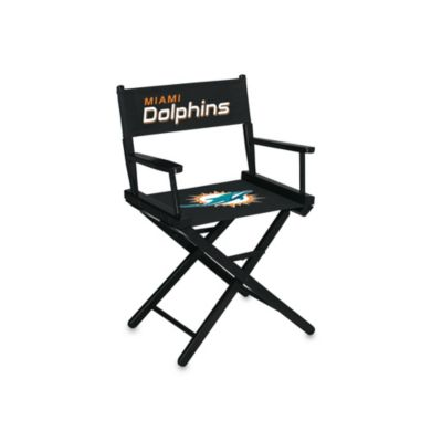 NFL Miami Dolphins Table Height Director Chair