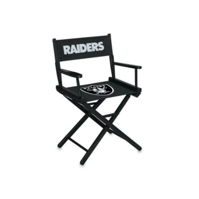 NFL Oakland Raiders Table Height Director Chair