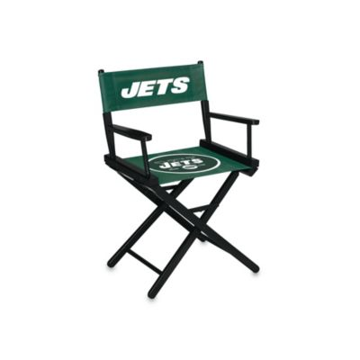 NFL New York Jets Table Height Director Chair