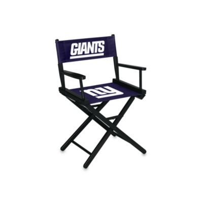 NFL New York Giants Table Height Director Chair
