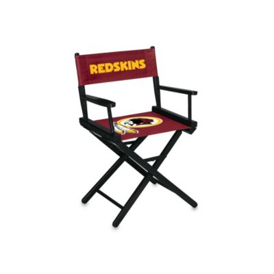 NFL Washington Redskins Table Height Director Chair