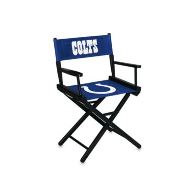NFL Indianapolis Colts Table Height Director Chair