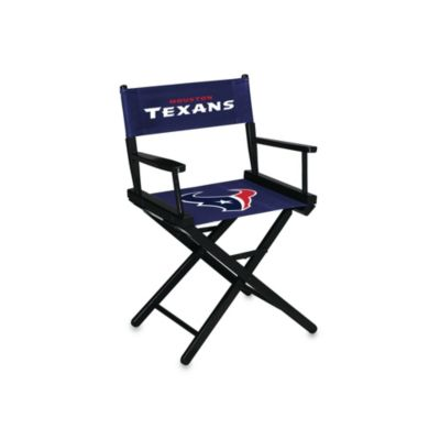 Houston Texans NFL Table Height Director Chair