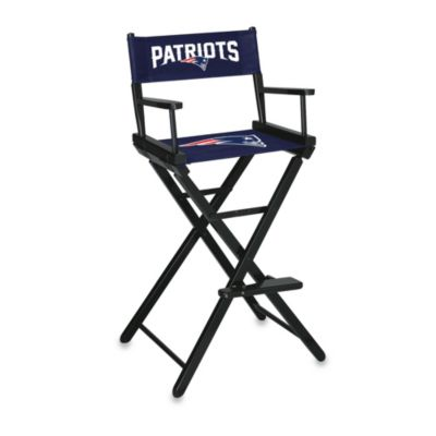 NFL New England Patriots Bar Height Directors Chair