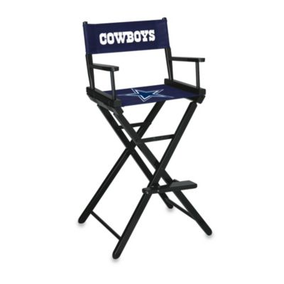 NFL Dallas Cowboys Bar Height Directors Chair