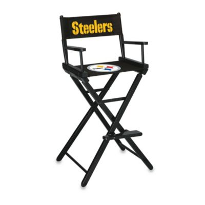 NFL Pittsburgh Steelers Bar Height Directors Chair