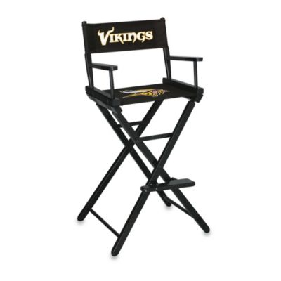 NFL Minnesota Vikings Bar Height Directors Chair
