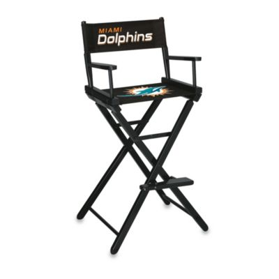NFL Miami Dolphins Bar Height Directors Chair