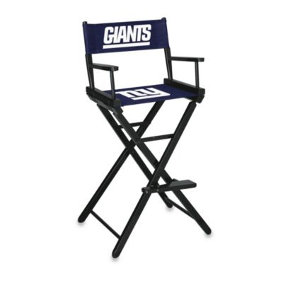 NFL New York Giants Bar Height Directors Chair