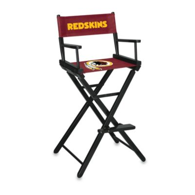 NFL Washington Redskins Bar Height Directors Chair
